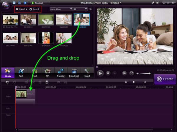 aggiungere musica al video