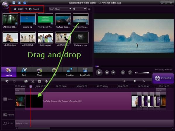 video-editor-main-interface