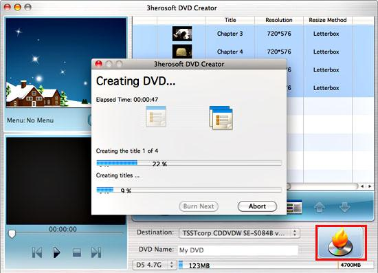 3herosoft dvd creator for mac