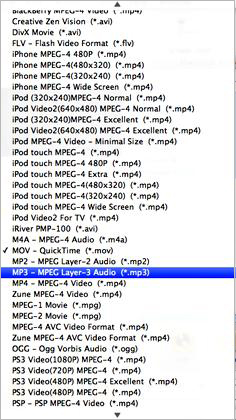 mp4 in mp3 su mac