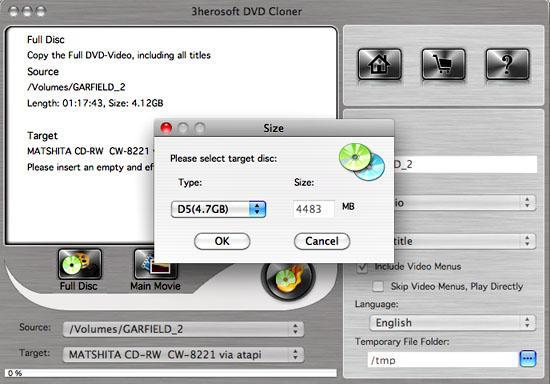 3herosoft dvd cloner for mac
