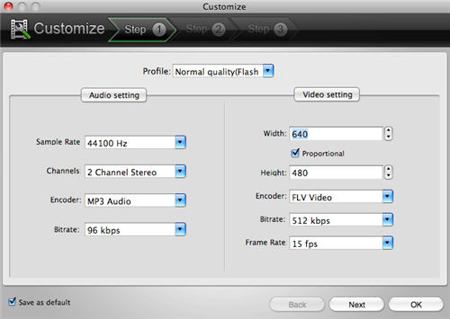 Convert Video to SWF/FLV/Animationon Mac OSX.