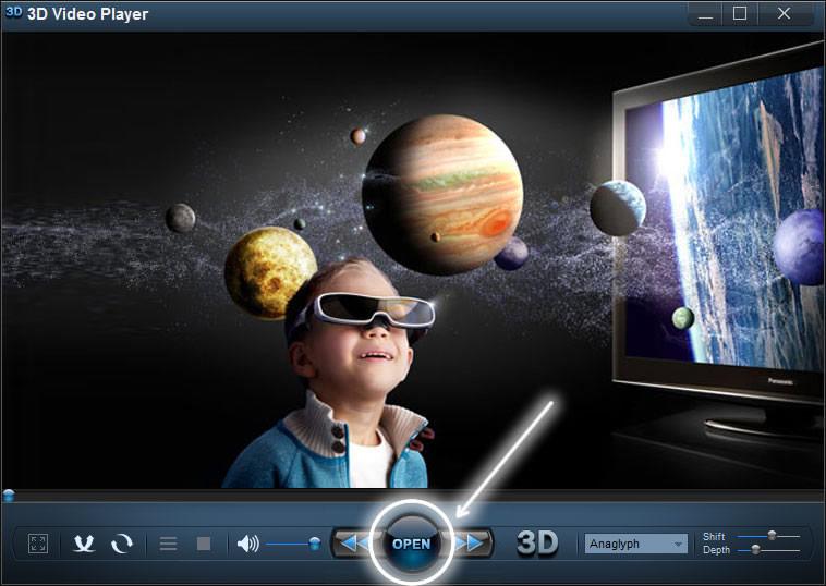 vedere video 3d sul pc