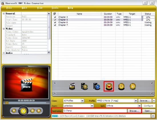 3herosoft wmv video converter
