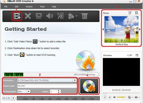 come masterizzare AVI su DVD
